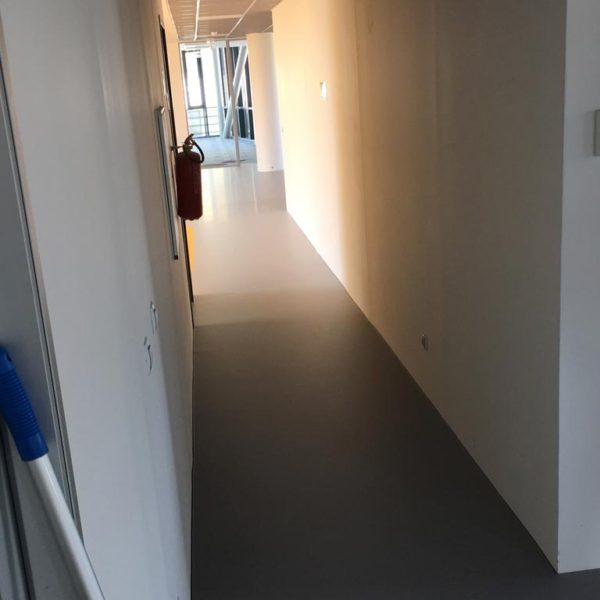 Pokládka polyuretanové podlahy, Praha 5