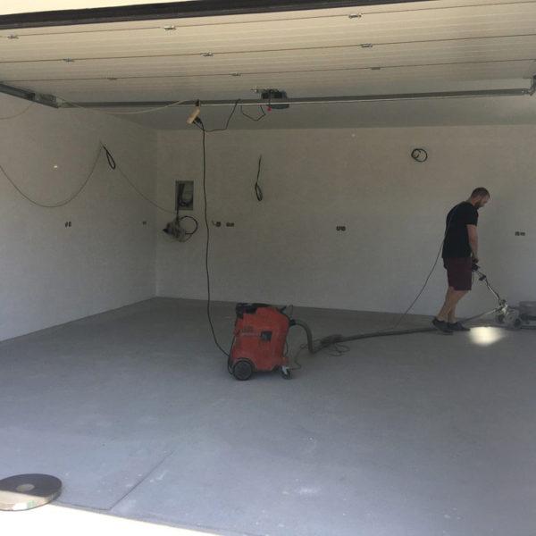 Epoxidová stěrka do garáže