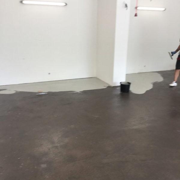 Epoxidový nátěr - garáž