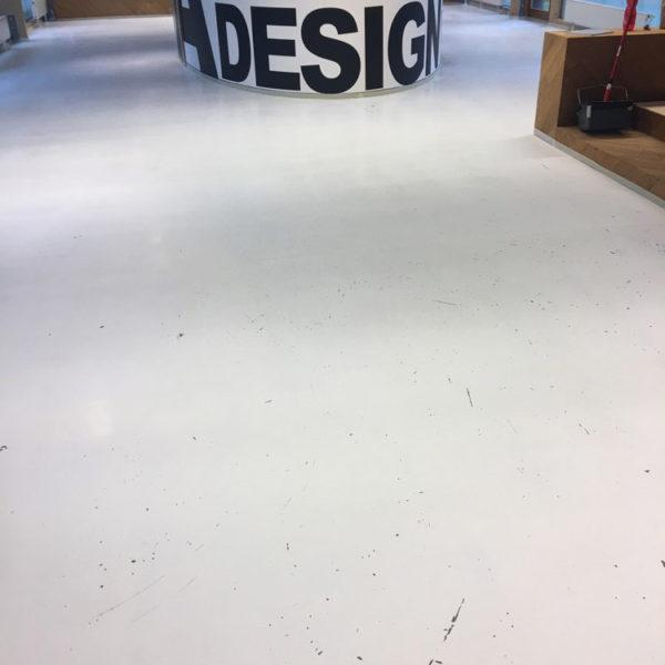 Realizace polyuretanové podlahy