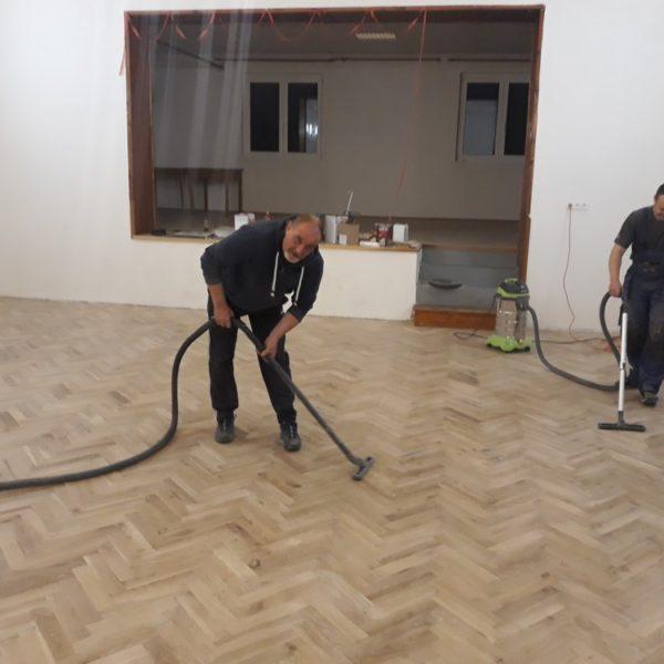 Renovace dřevěných parket Praha
