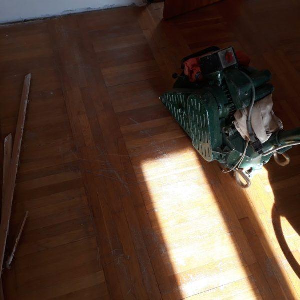 Renovace kazetové podlahy