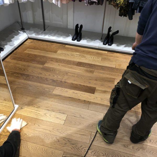 olejovani podlah