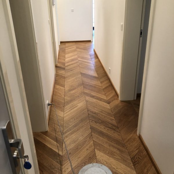 naolejovana drevena podlaha