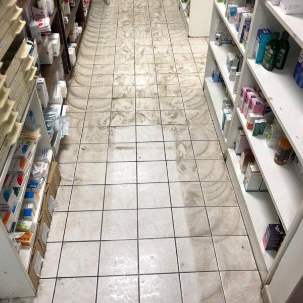 cisteni podlahy v lekarne
