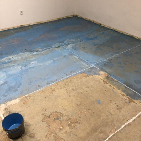 nivelace podkladu pro pokladku podlah